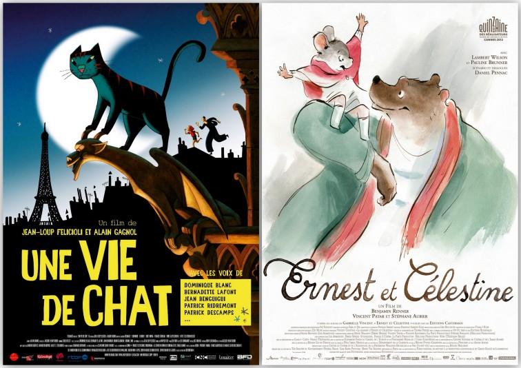 Une vie de chat - Ernest et Celestine