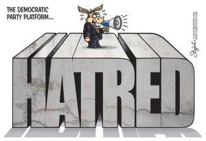democrat platform hatred