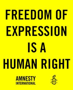 freedom of expression amnesty international